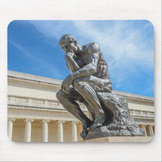 Rodin Denker-Statue Mauspads