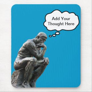 Rodins Denker - addieren Sie Ihren Mauspad