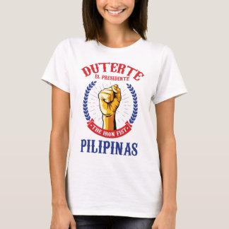 Rodrigo Duterte für Präsidenten der Philippinen T-Shirt