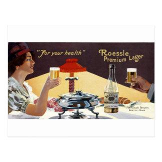Roessle Prämien-Lager Postkarte