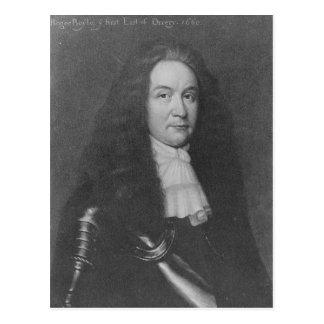 Roger Boyle, 1. Graf von Orrery Postkarte