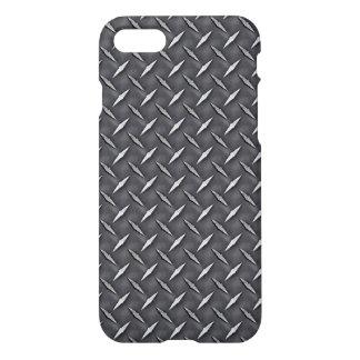 Rohe industrielle Stahldiamant-Platte iPhone 8/7 Hülle