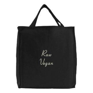 Rohe vegane ökologische Tasche
