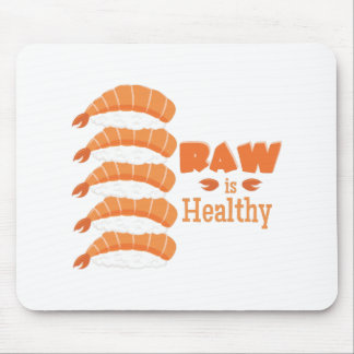 Rohes gesundes mousepad