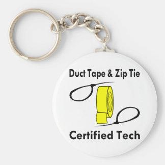 Rohr-Bandu. ZipKrawatte zugelassener Tech Schlüsselanhänger