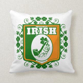 Rohr St. Patricks Tages Kissen