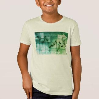 Rohstoffhandel-und Preis-Analyse-Nachrichten-Kunst T-Shirt