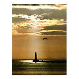 Roker Pier u. Leuchtturm, Sunderland Postkarten
