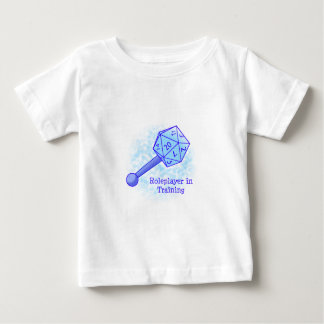Roleplayer in ausbildenblau baby t-shirt