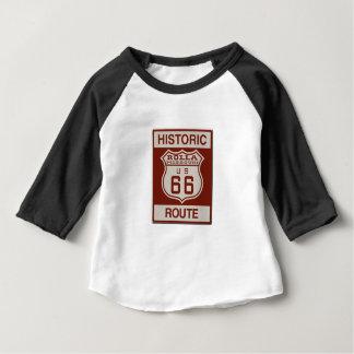 Rolla Weg 66 Baby T-shirt
