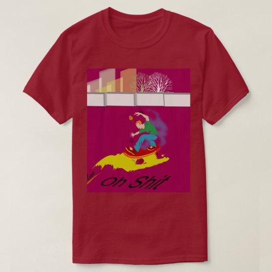#Rollbrett driver Skater T-shirt