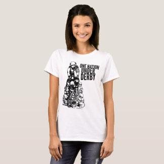 Rolle Derby entwarf Nation des Shirt-eins unter T-Shirt