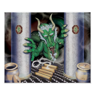 Rolle-Drache Poster