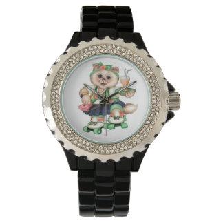 ROLLECAT eWatch Uhrrhinestone-Weiß 2 Armbanduhr