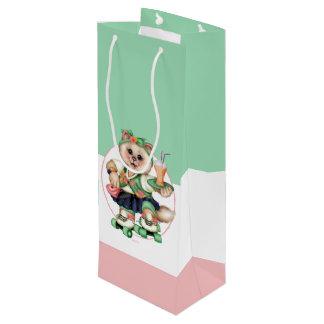 ROLLEcat-Geschenk-Tasche - WEIN-TASCHE 2 Geschenktüte Für Weinflaschen