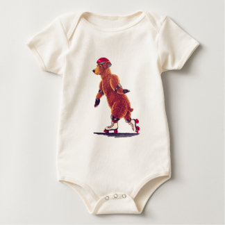 Rollen-Bärn-Baby Baby Strampler