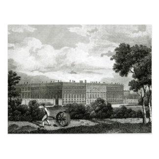 Rollen der Rasen am Hampton Court-Palast Postkarte