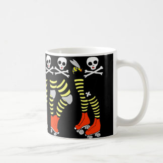 Rollen-Derby-Kaffee-Tassenschale Kaffeetasse