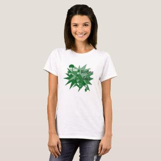 Rollen-Derby-Mädchen T-Shirt
