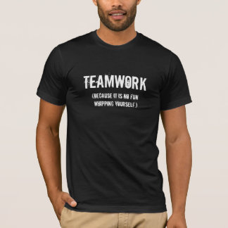 Rollen-Derby-Teamwork T-Shirt