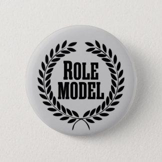 Rollen-Modell Runder Button 5,7 Cm