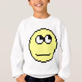 Rollen mustert Emoticon Sweatshirt