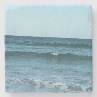 Rollen-Ozean-Wellen Steinuntersetzer