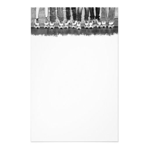 Rollen-Skaten-Briefpapier Individuelle Druckpapiere