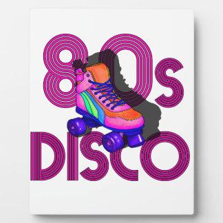 Rollen-Skater-80er Fotoplatte