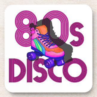 Rollen-Skater-80er Getränkeuntersetzer