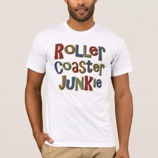 Rollen-Untersetzer-Junkie T-Shirt