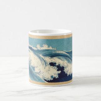 Rollen-Wellen mit Seeschale Kaffeetasse