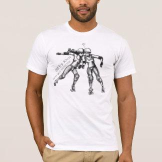Rollenderby-Liebe T-Shirt