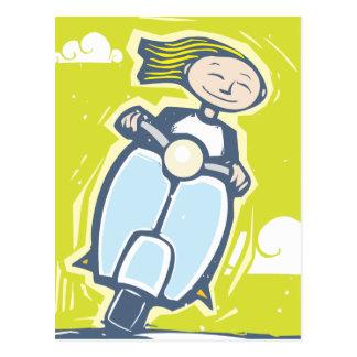Roller Postkarte