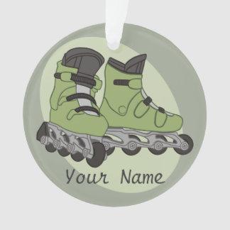 Rollerblade-Skate-personalisierter Name Ornament