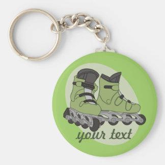 Rollerblade-Skate Schlüsselanhänger
