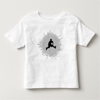 Rollerblading Gekritzel-Art Kleinkind T-shirt