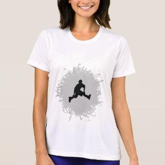 Rollerblading Gekritzel-Art T-Shirt