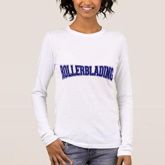 Rollerblading Hochschulart Langarm T-Shirt