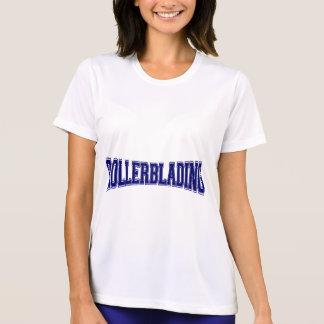 Rollerblading Hochschulart T-Shirt