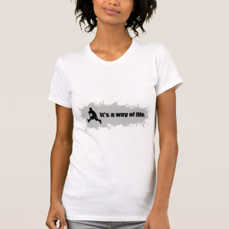 Rollerblading ist eine Lebensart T-Shirt