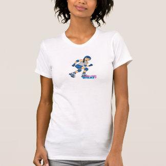 Rollerderby Mädchen - Medium T-Shirt