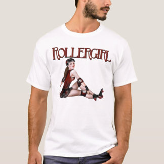 Rollergirl Störsendert-stück T-Shirt