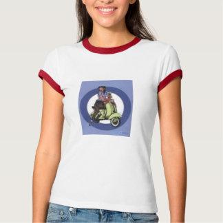 Rollermädchen T-Shirt