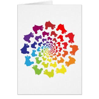 rollerskate Regenbogenkreis Karte