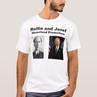 Rollie und Josef, heimat-Schutze T-Shirt