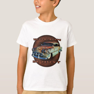 Rollin in Rost Schwanz Dragger gehacktes Chevy T-Shirt