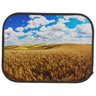 Rolling Hills des reifen Weizens Autofußmatte