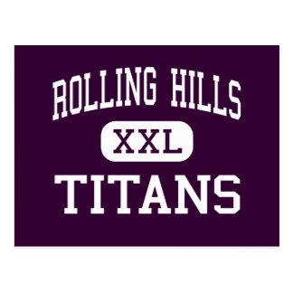Rolling Hills - Titanen - hoch - Fairfield Postkarte