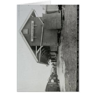 Rollingstone Station, im März 1922 Grußkarte